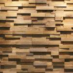 Java Straight Wood Panels Teak Your Wall