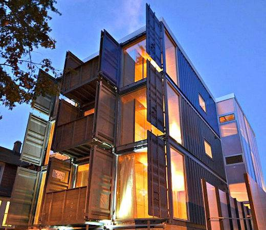 Jetson Green Apartment Building Made Shipping
