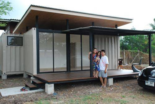 Jetson Green Simple Yet Functional Container Home