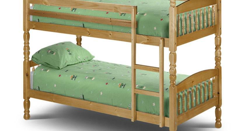 Julian Bowen Lincoln Small Single Bunk Bed Bedframeshop