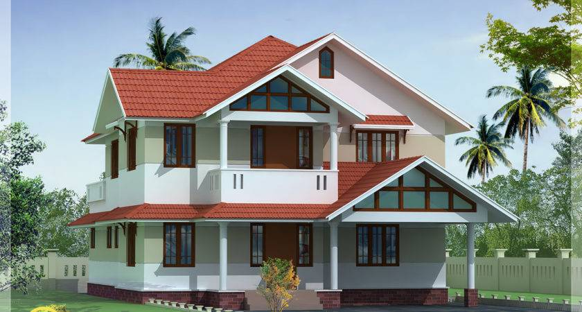 Kerala Style Beautiful Home Designs