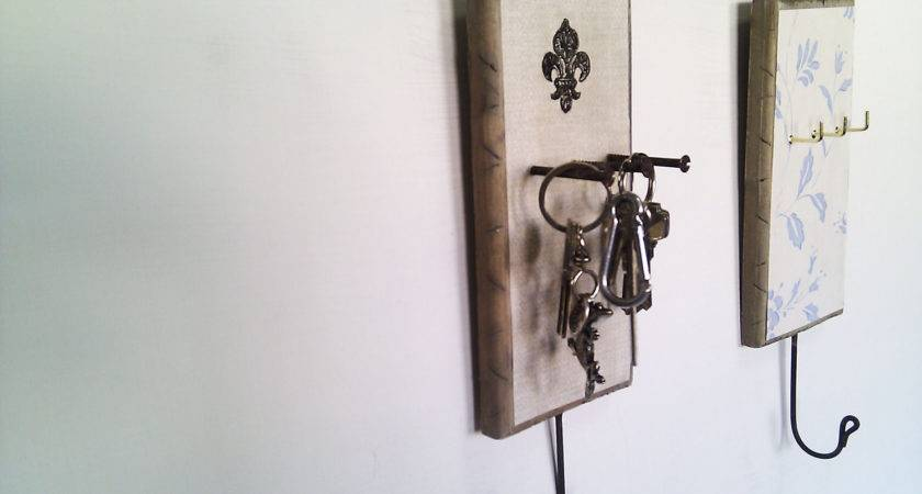 Key Holder Organise Accessories Wall Mounted French