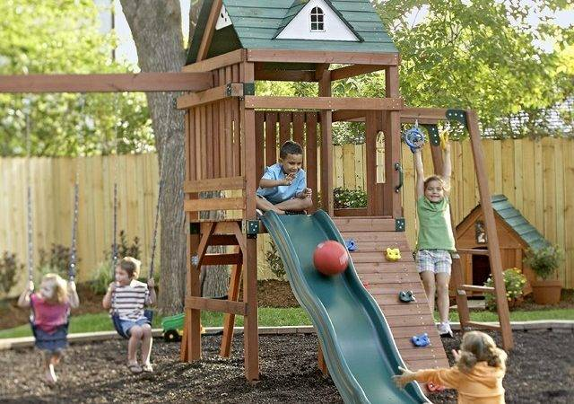 Kids Backyard Play Area Traditional Other