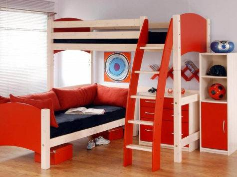 Kids Modern Bed Designs Interior Design
