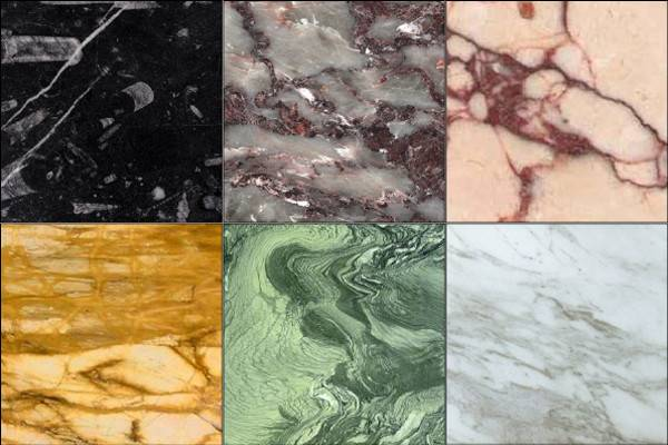 Kinds Marble