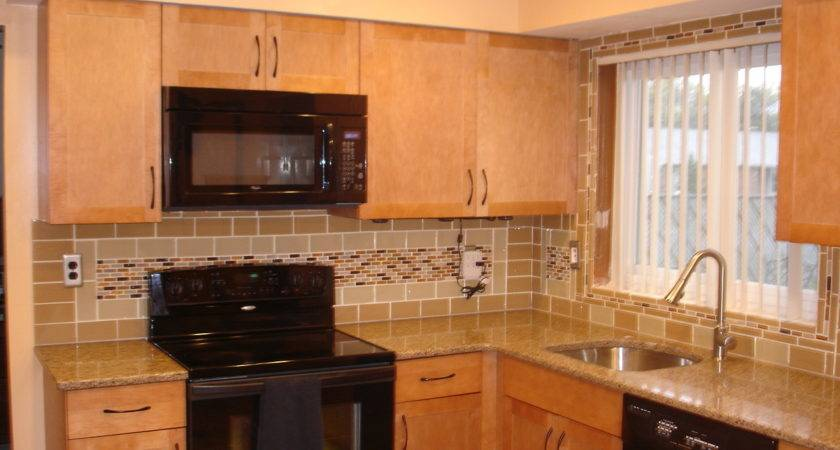 Kitchen Backsplash Subway Tile Interior Design