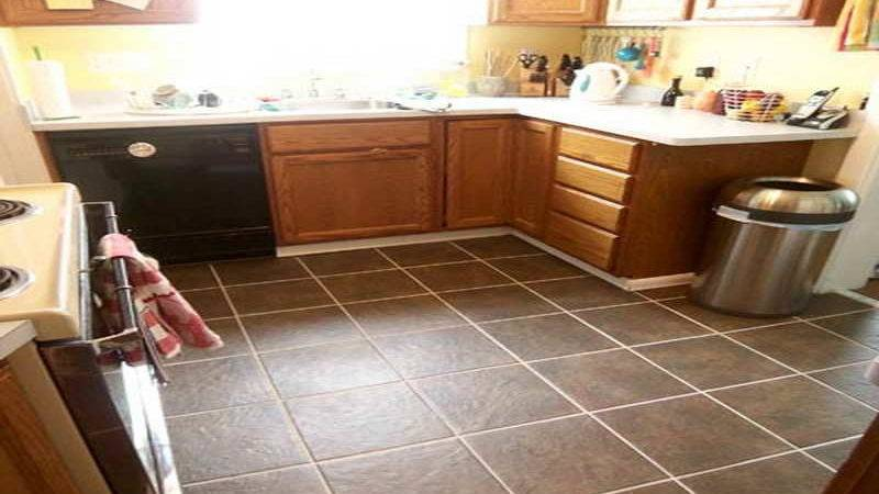 Kitchen Best Tile Floor Small