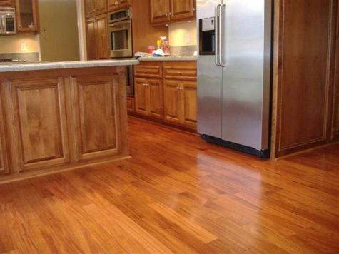 Kitchen Best Tile Floor Wooden