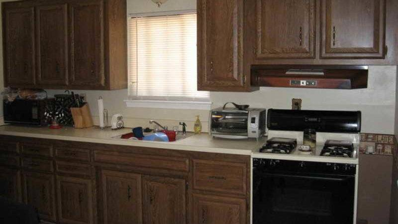 Kitchen Brown Painted Cabinets Decorating
