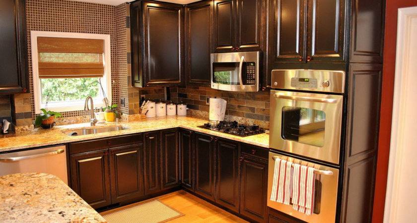 Kitchen Cabinets Ideas Two Tone Cabinet
