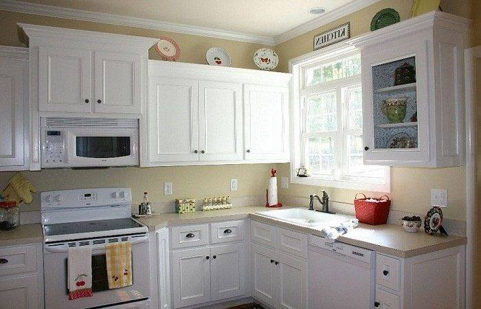 Kitchen Cabinets Painted White Paint Colors
