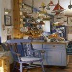 Kitchen Cabinets Painting Country Blue
