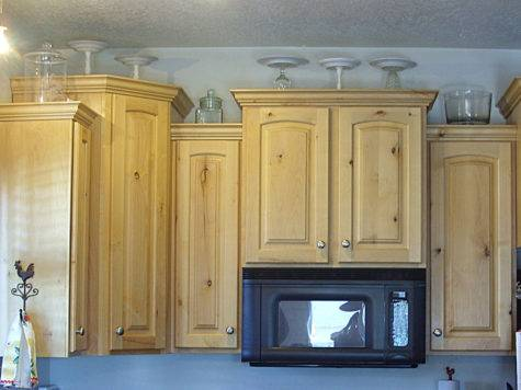 Kitchen Cabinets Top Decorating Ideas Decorations