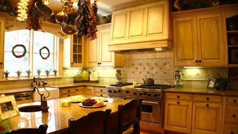 Kitchen French Country Home Decorating Ideas