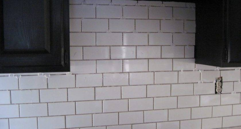 Kitchen Glass White Subway Tile Backsplash Ideas