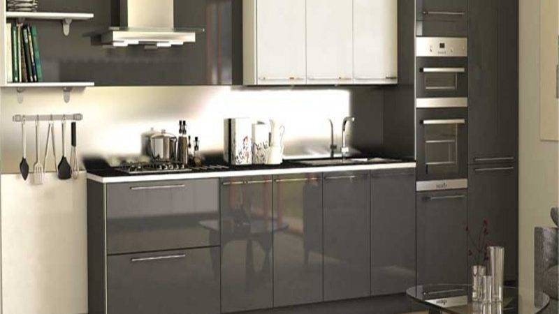 Kitchen Gray Backsplash Subway Tiles European Style