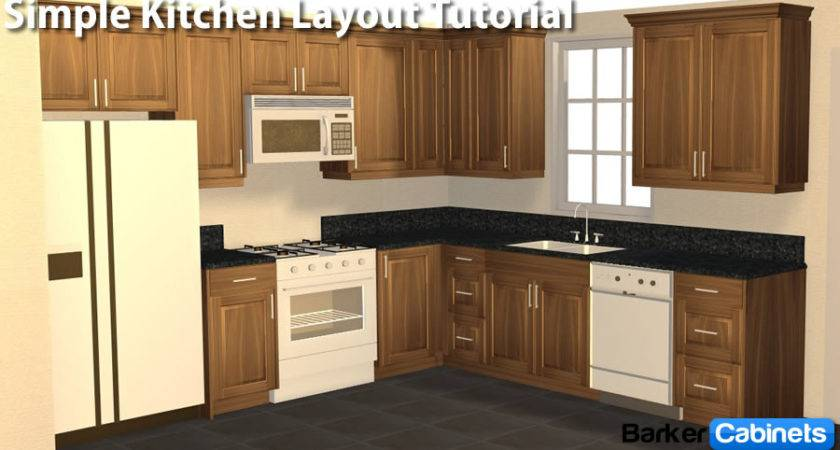 Kitchen Layout Simple Shaped