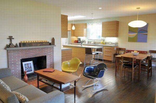 Kitchen Living Room Combined Few Fun Solutions