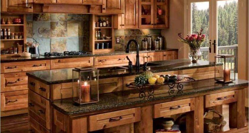 Kitchen Remodeling Rustic Cabinets