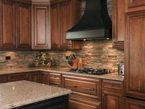 Kitchen Stone Backsplash House Homemy Home