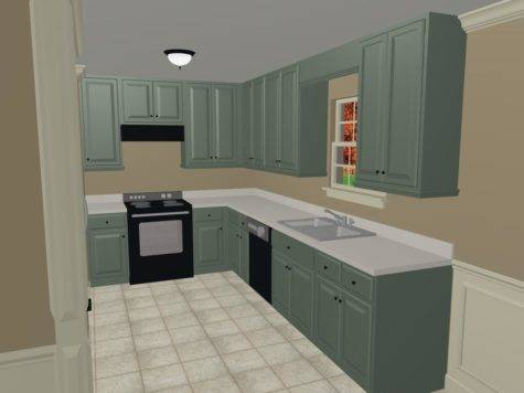Kitchen Trends Color Paint Cabinets