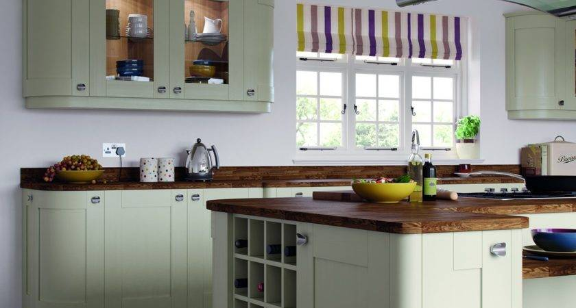 Kitchen Wall Units Designs Blue Painted Kitchens