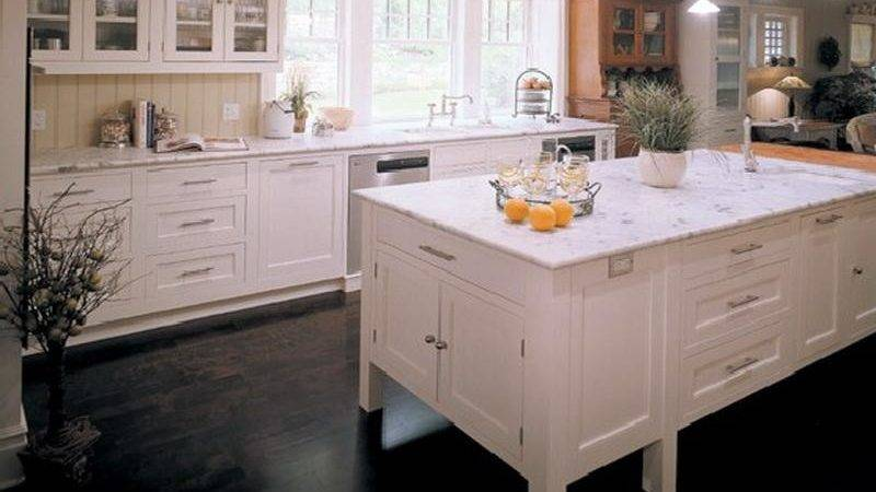 Kitchen White Painted Cabinets Ideas
