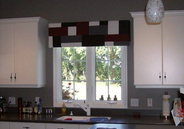 Kitchen Window Treatments Diy Treatment Best Ideas