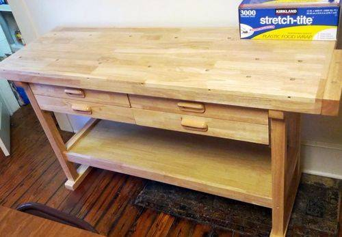 Kitchen Work Bench Table Brilliant Title Keyid
