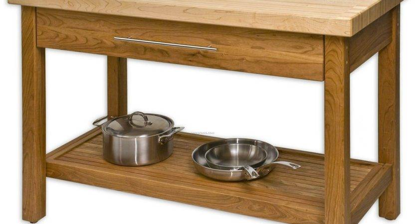 Kitchen Work Table Wood Tables Sets