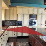 Kitchen Work Triangle Cabinets Graber