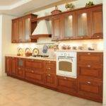 Kitchens Traditional Medium Wood Cherry