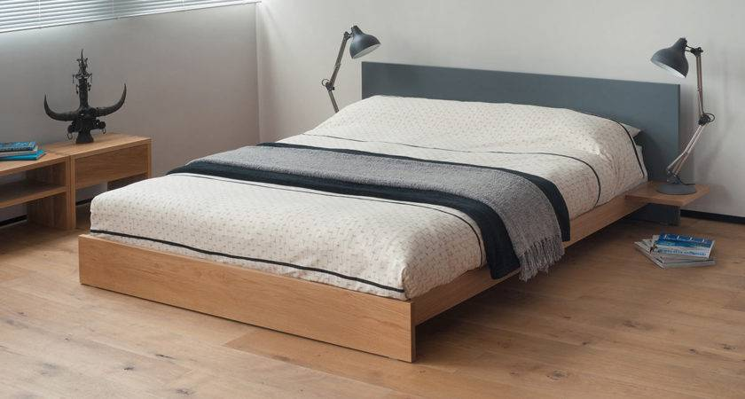 Koo Low Wooden Bed Painted Natural Company
