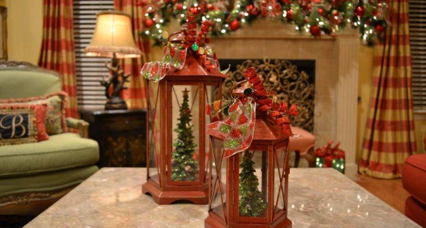 Kristen Creations Christmas Tree Lanterns