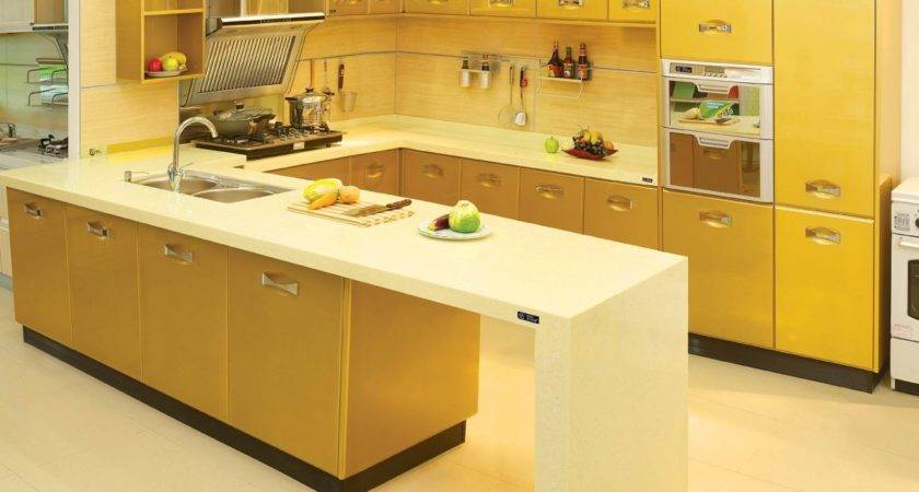Lacquer Kitchen Cabinet Customized Easy