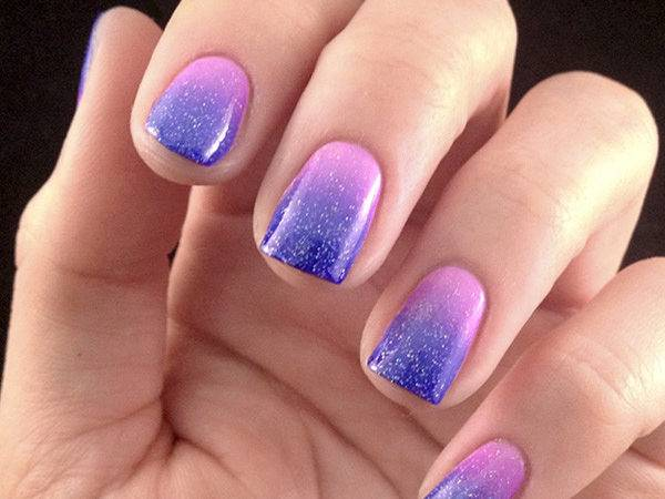 Lacquered Love Ombre Nail Art