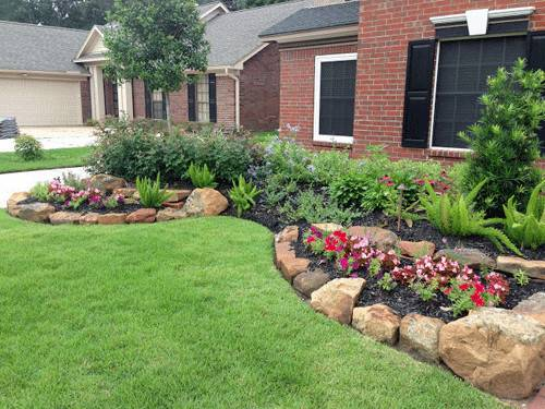 Landscape Fascinating Simple Landscaping Ideas Easy Front