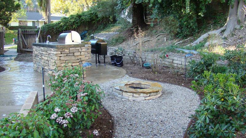 Landscaping Fire Pits