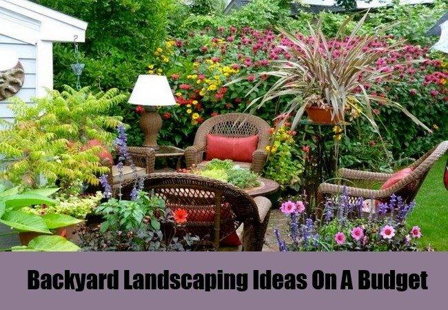 Landscaping Ideas Budget Simple Inspiration Garden