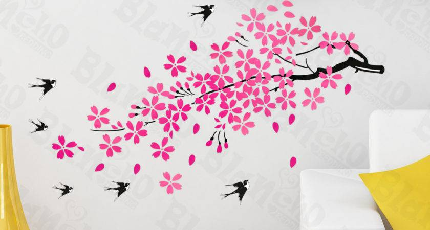 Large Home Decor Wall Decal Stickers Vinyl