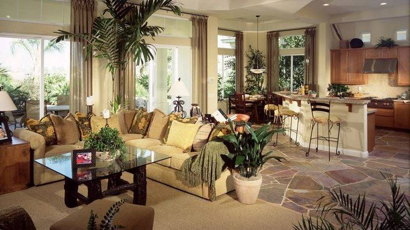 Large Open Concept Living Room Designs