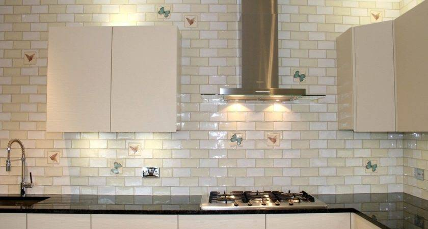 Large Subway Tile Backsplash Design Decoration