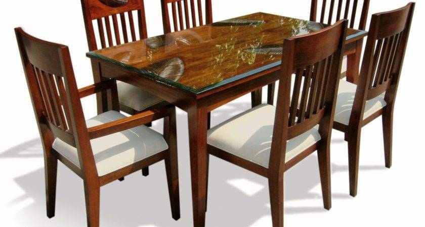 Latest Design Dining Table Chairs Interior