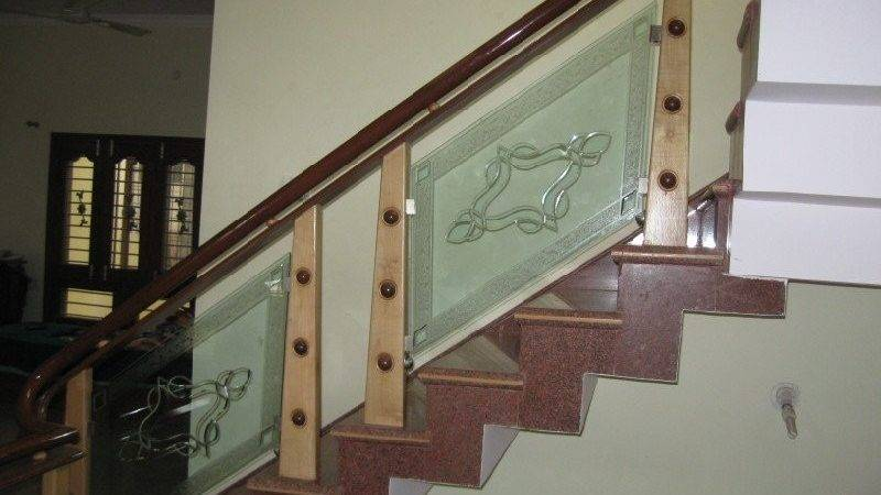 Latest Glass Wood Stair Case Design Modern Stairs