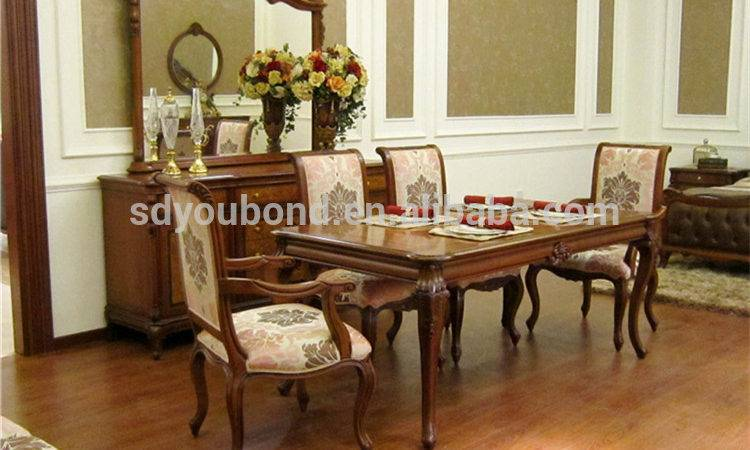 Latest Wood Dining Table Set Italy