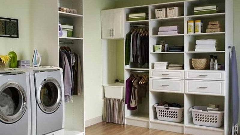 Laundry Room Storage Ideas Shelving