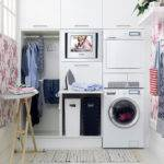 Laundry Room Storage Organization Inspiration