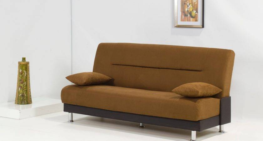 Laura Brown Sleeper Sofa Bed Modern