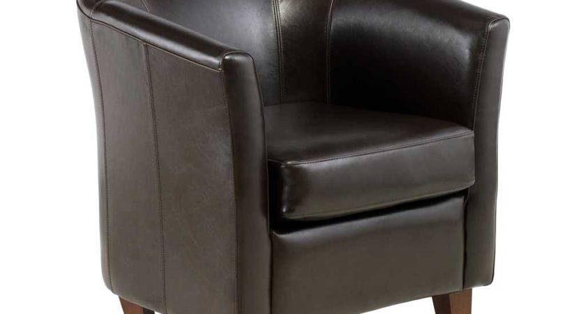 Leather Tub Chair Perfect Home Office