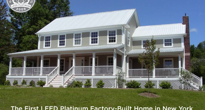 Leed Platinum Home Sale New World